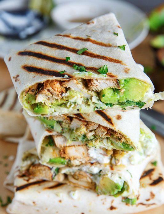 Chicken & avocado burrito Per Burrito Calories: 519 Carb: 37.2g Fat: 24g Protein…