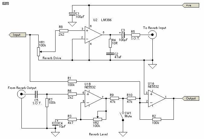 Lm386 reverb driver | MusicaPinterest