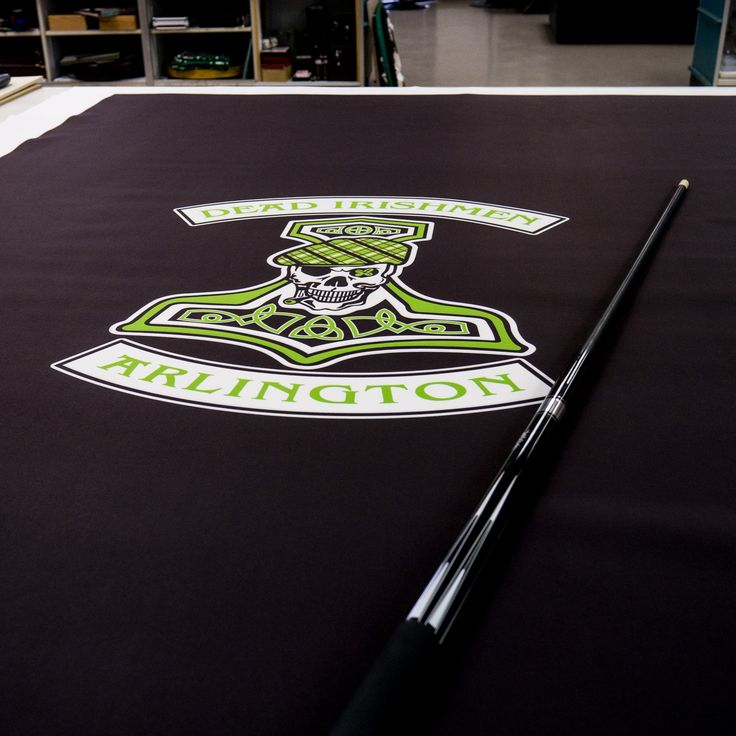 Pool Table Felt Designs Nfl Replacement Melbourne Custom Billiard ...