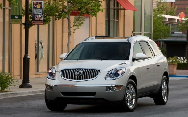 The Buick Enclave was ranked 1st in the Midsize Crossover / SUV category  in the most recent J.D. Powers and Associates Initial Quality Study. Each of General Motors' four U.S. brands earned a segment award in the 2012 J.D. Power and Associates Initial Quality StudySM, helping GM to its best-ever company score compared to the industry average in the 26-year history of the widely watched third-party quality measure.