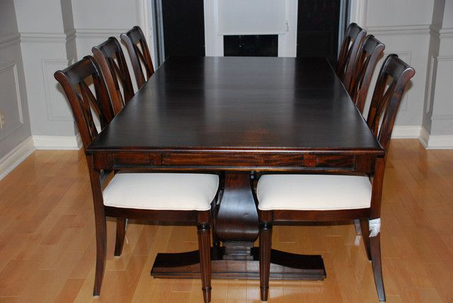 Awesome Solid wood dining room furniture toronto | dining table ...