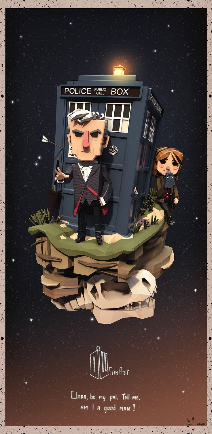 The Twelfth Doctor on Behance