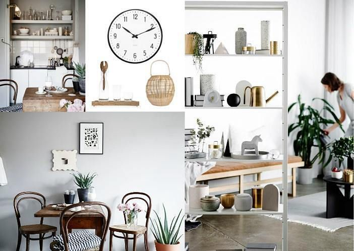 Although strong #contrasts should be avoided when replicating #Scandi style at #home, a dash of #vintage will not go amiss in the #minimalist Nordic #kitchen 🍽 #sampleboardinspo @sampleboard.inspo