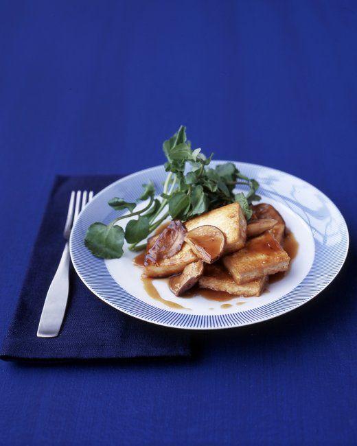 Teriyaki Tofu and Mushrooms | Main Course - Eggs, Tofu, other vegetar ...