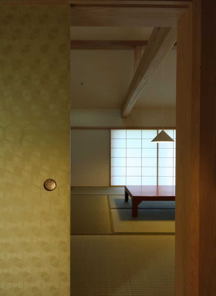 japanese residence, fusuma, 襖, 大黒柱