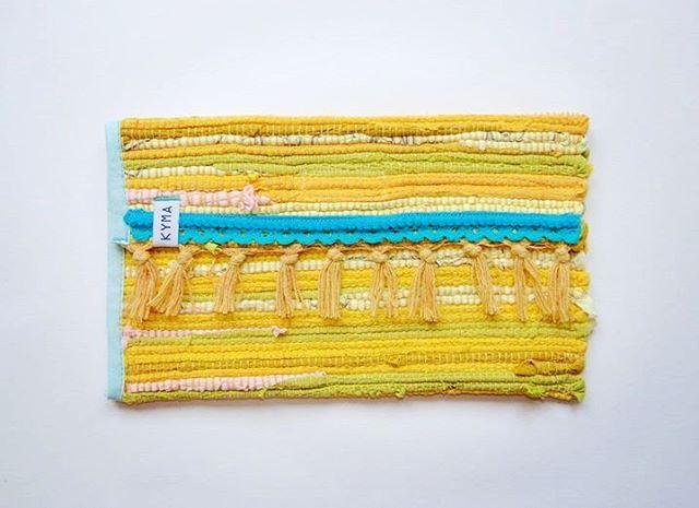 Clutch Pouch Handbag Bag ~ Bohemian Boho Gipsy Ibiza Style ~ Kourelou Rug ~ Handmade by http://www.kymastyle.com ~ DaWanda Shop: http://kymastyle.dawanda.com