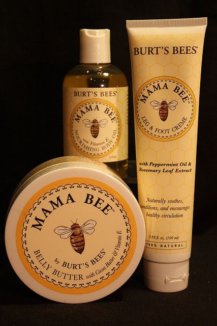 Burts Bees- got these from my secret Santa when pregnant with Annie. Been buying the foot cream and body butter ever since. Love, love, love them!!!!!