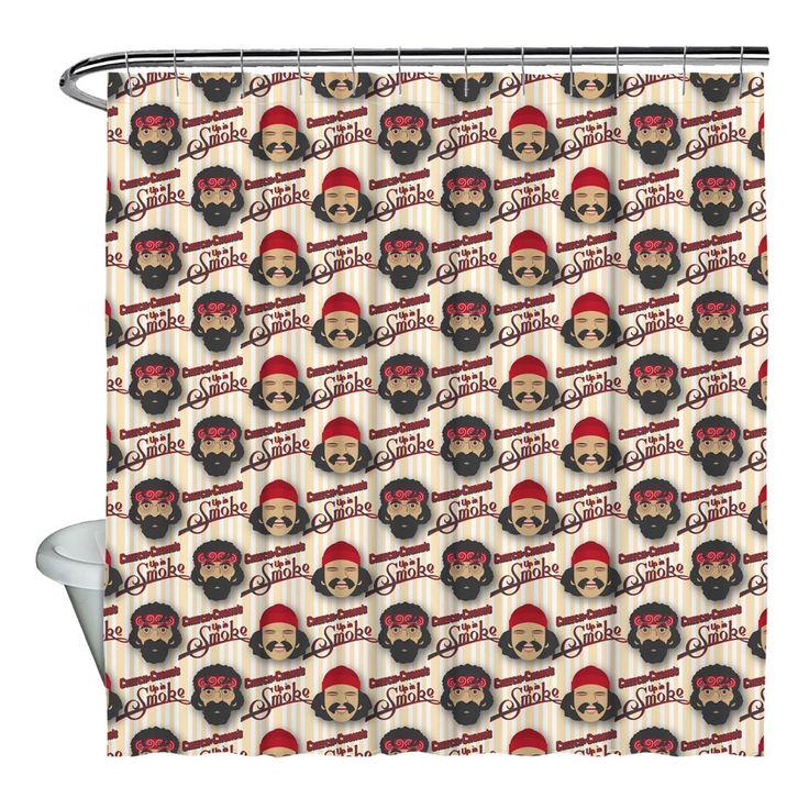 Cheech & Chong/Bambu Shower Curtain