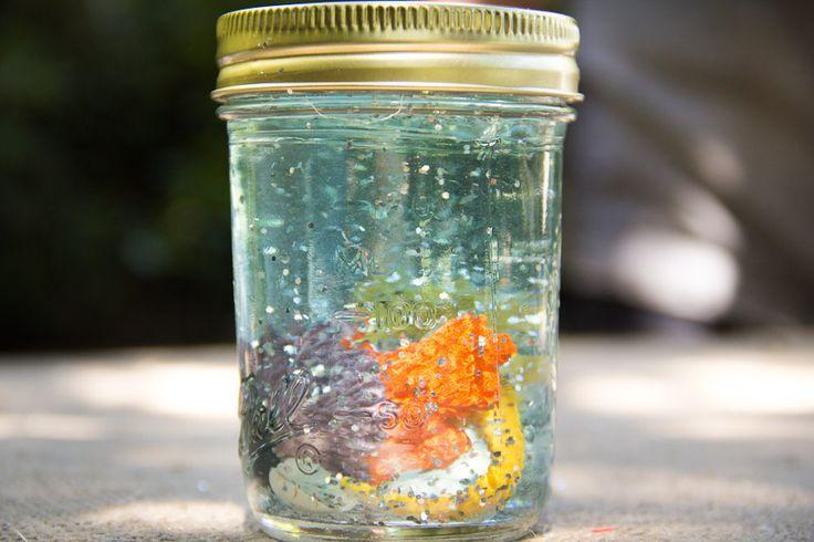 Under The Sea Glitter Globe | Moonfrye