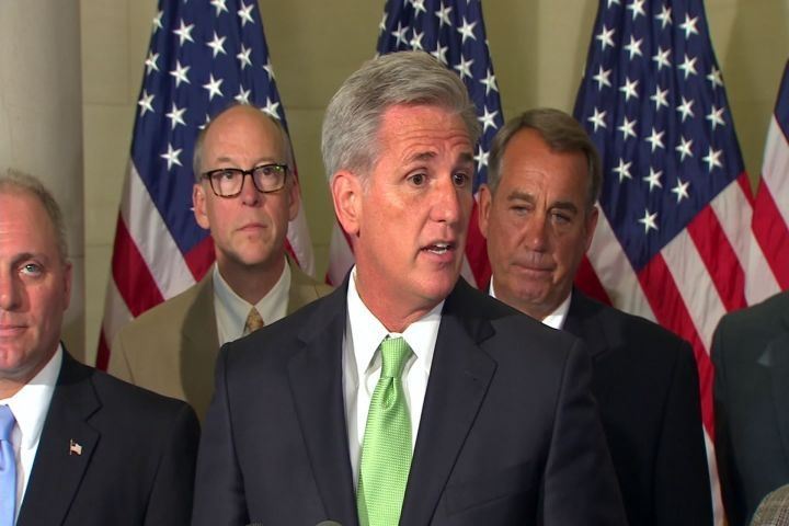 UPDATE: Rep. Kevin McCarthy to Replace Cantor as House Majority Leader