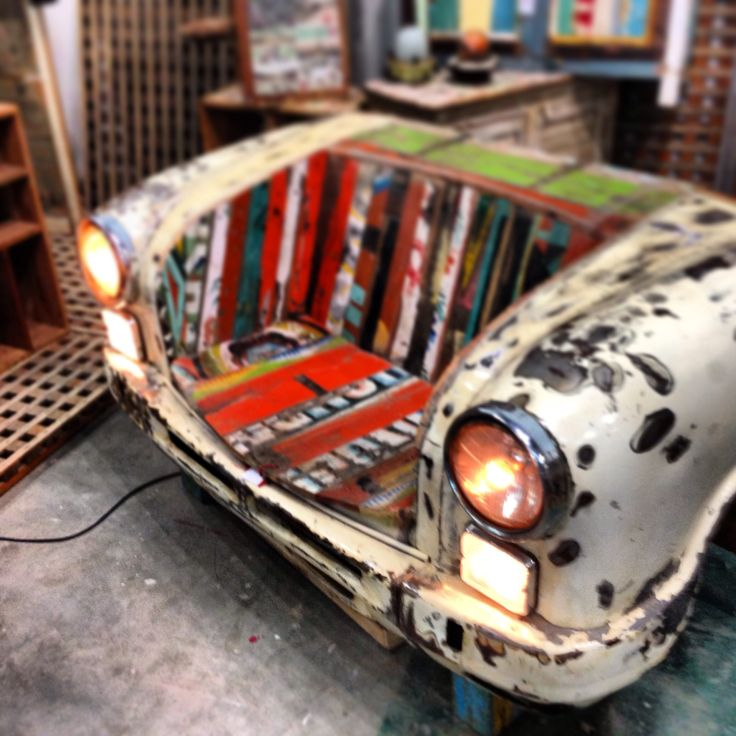 Auto bank art www.gigameubel.nl