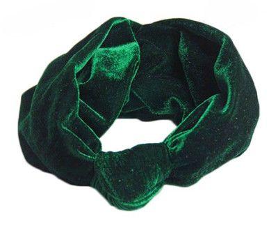 Velvet Knot Headband Women Earmuffs Earwarmers Scrunchy Twist Hair Band Turban Headband Bandana Bandage On Head