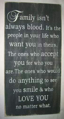 This is so true!! I have many brothers, sisters, and more.....what a blessing!