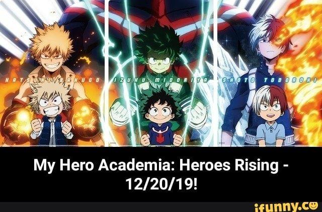My Hero Academia Heroes Rising 1 2 20 1 9 My Hero Academia