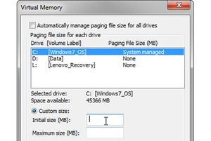 If Windows virtual memory is too low, you can increase it, but there are trade-offs | PCWorld