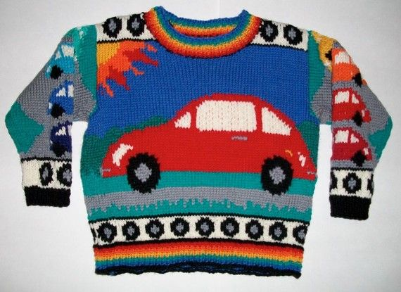 Two Year Beetles Sweater