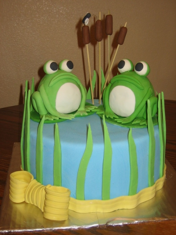 17 Best Images About Frog Cake On Pinterest Birthdays