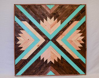 Wood Wall Art Abstract Wood Wall Hanging by RoamingRootsWoodwork