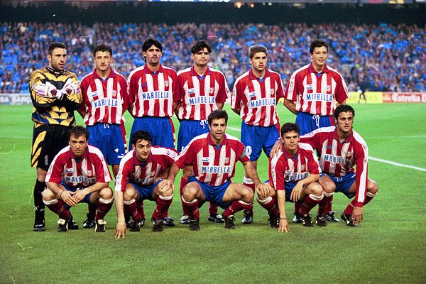 Atletico de Madrid 1996