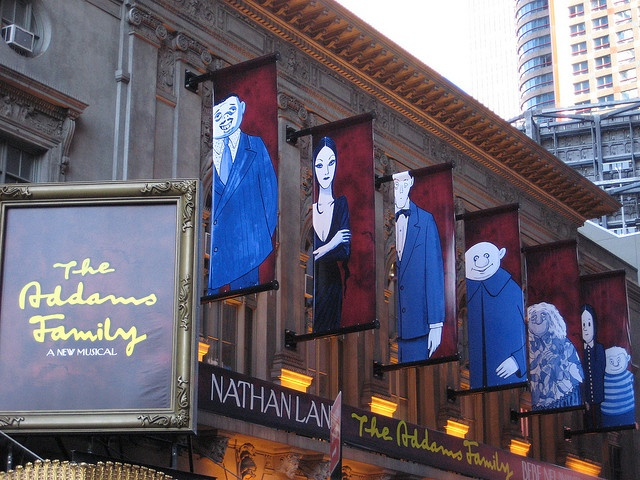 The Addams Family Musical with Nathan Lane and Bebe Neuwirth Cadillac Palace Chicago 2011