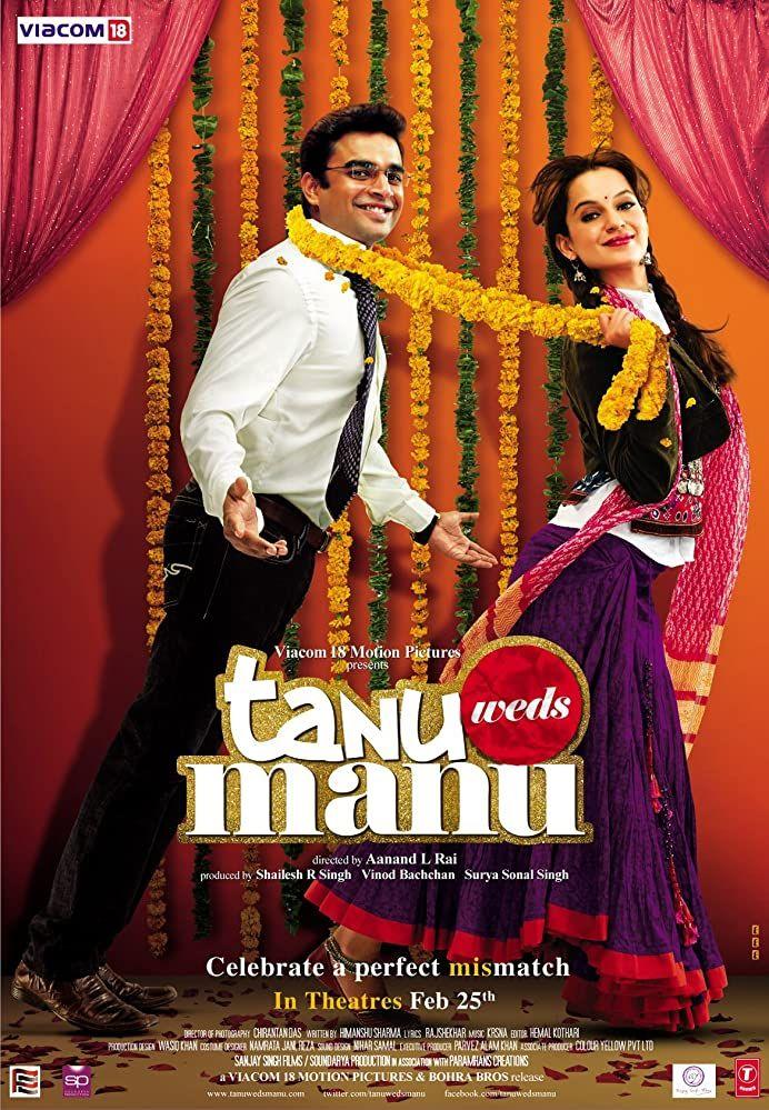 Tanu Weds Manu 2011 In 2020 Hindi Movies Best Bollywood Movies 2011 Movies