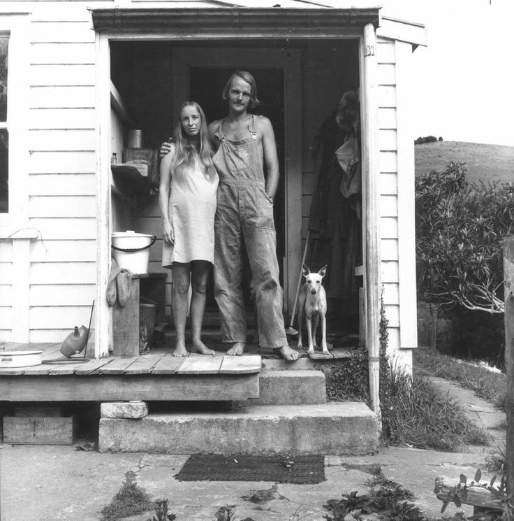 Quentin and Margy Lush, Puhoi (c.1970)