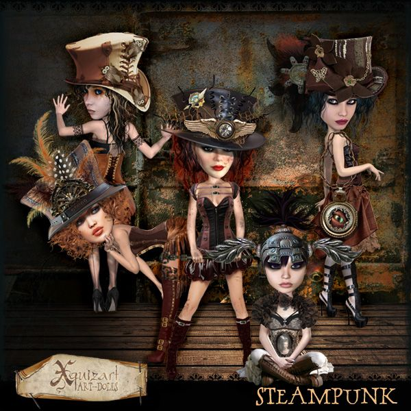 'Steampunk' Artdoll Kit
