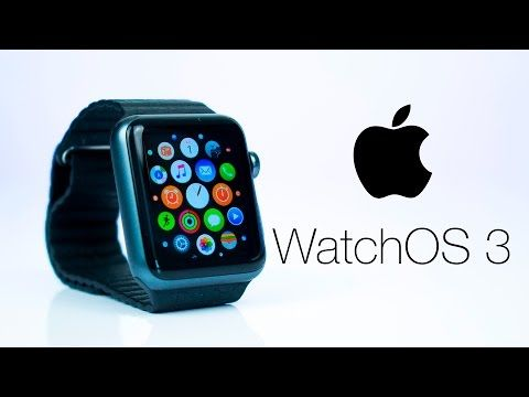 Apple Watch OS 3 - TOP 20 NEW Features! - YouTube