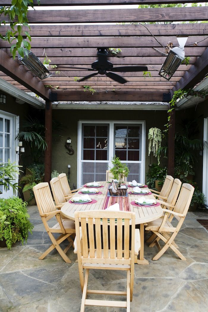 outdoor patios patio contemporary covered. furnished stone patio with wood beam cover vines fan and heater french doors small outdoor patiosoutdoor patios contemporary covered r