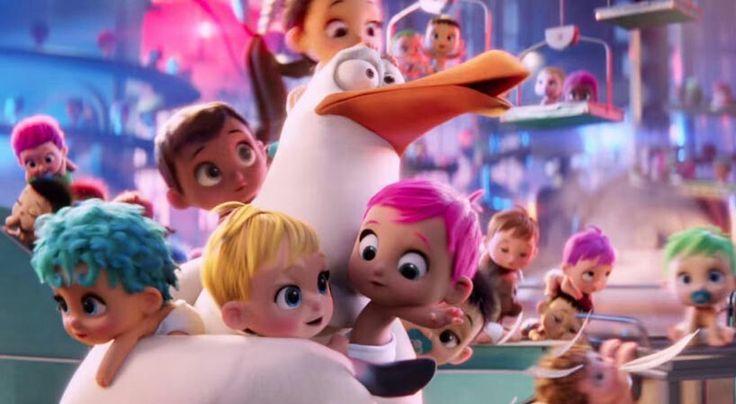 Oooohhh They're Soooooo Cute !!!! Storks Movie 2016