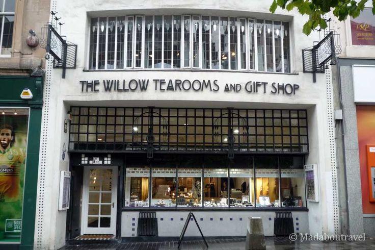 Glasgow Style architecture: Willow Tea Rooms Sauchiehall Street by Mackintosh