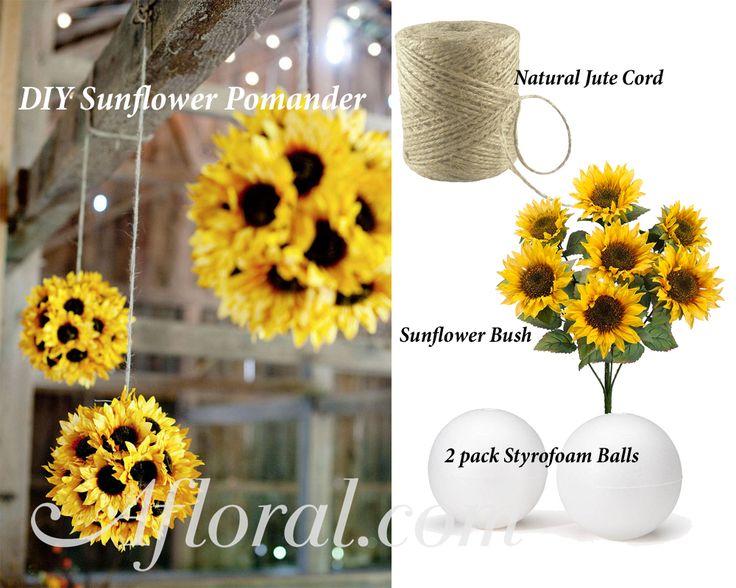Best ideas about sunflower wedding centerpieces on