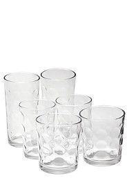 18 PIECE GLASS SET