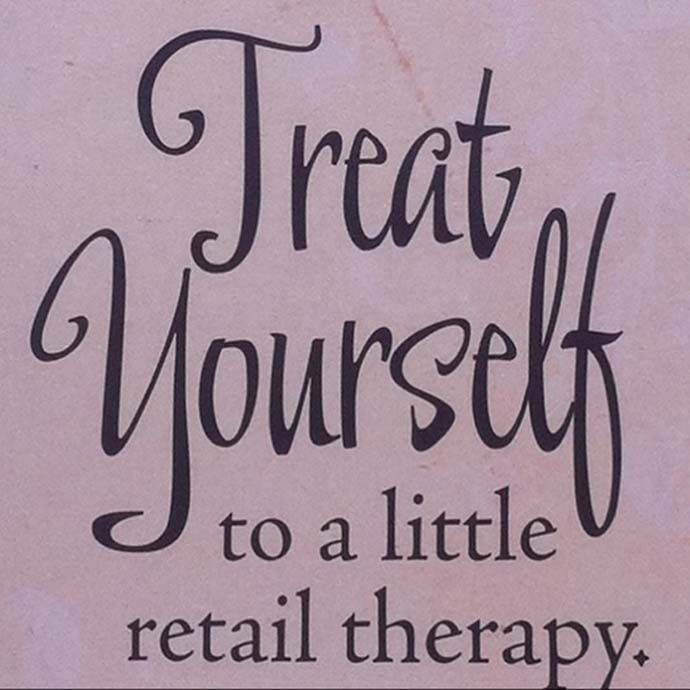 Treat yourself to a little retail therapy