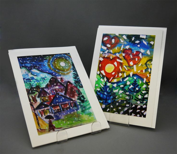 """The MOA Shop: """"Kitsilano Fine Art Greeting Cards"""" by Vancouver-based artist Douglas Kennedy."""