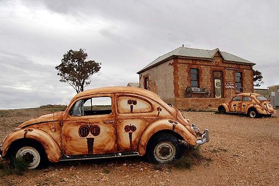 Desert Scene near Broken Hill - Australia