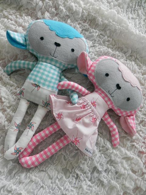 * Dolls And Daydreams - Doll And Softie PDF Sewing Patterns: Handmade Easter…