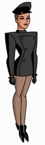 A tough young woman with a checkered past, Mercy Graves serves as Lex Luthor's personal body guard and chauffeur.