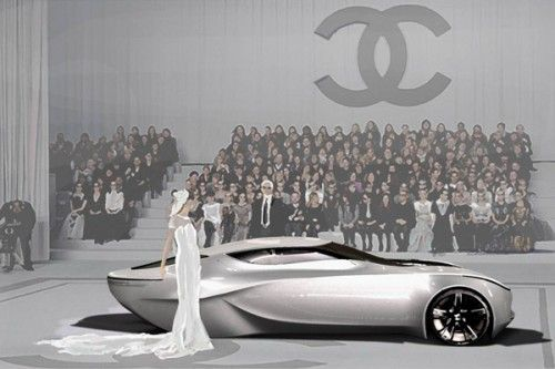 Chanel Concept car: Coco Chanel, Cars Design, Grand Entrance, Chanel Fiol, New Fashion, Concept Cars, Fiol Concept, Karl Lagerfeld, Haute Couture