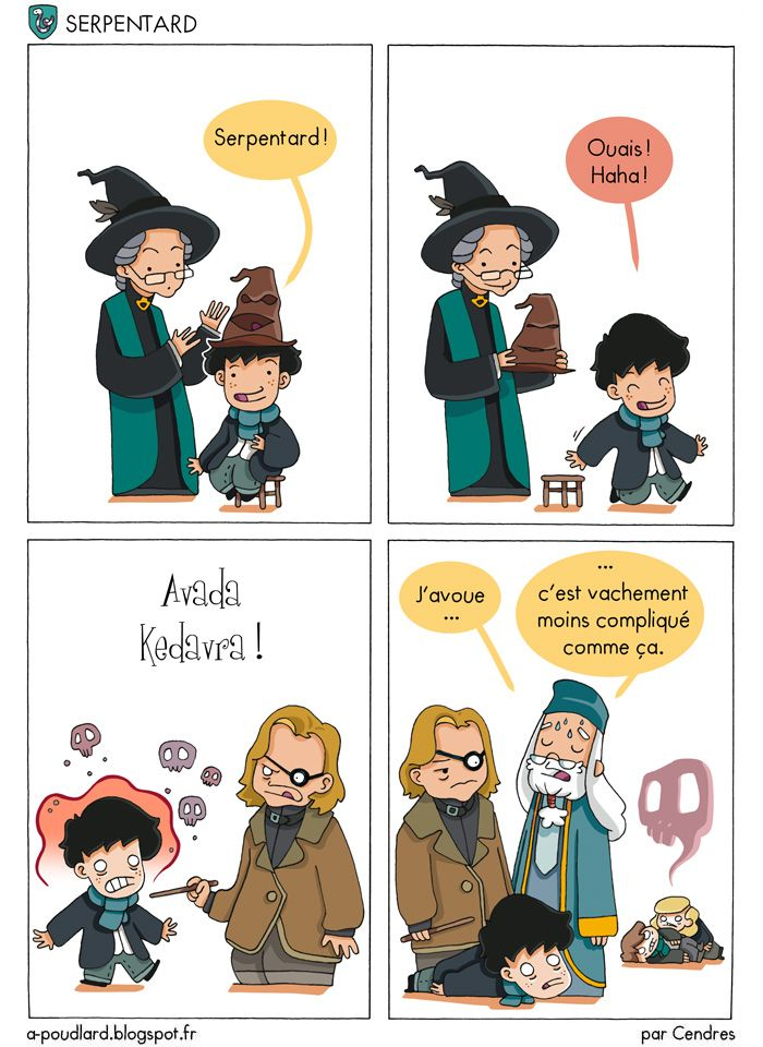À Poudlard / At Hogwarts - Harry Potter Parody