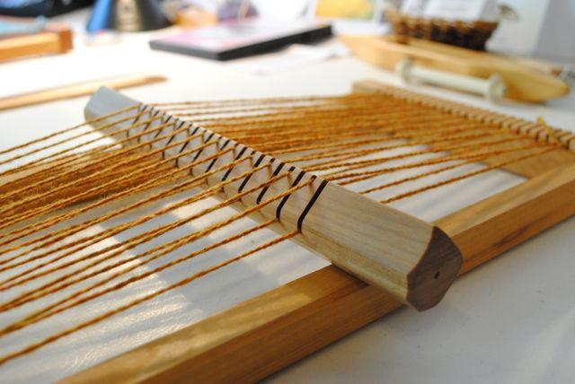 The Little Dog Blog: Table Loom Weaving 101