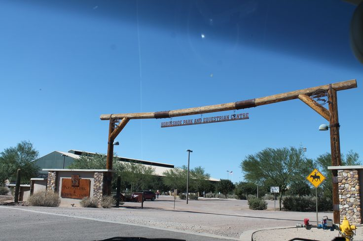 """Horseshoe Park & Equestrian Centre. We watched the Arizona Cowboy Mounted Shooters Competition and what a treat! If you love """"horsey"""" type events, THIS is the place. Worth a visit. FREE to watch. 20464 East Riggs Road, Queen Creek, AZ 85142 