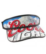 Coors Light Beer Box Hat Visor