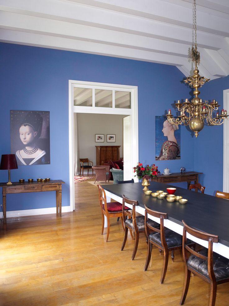 45 besten Blaue Wandfarben (Kreidefarben für Wände und Möbel