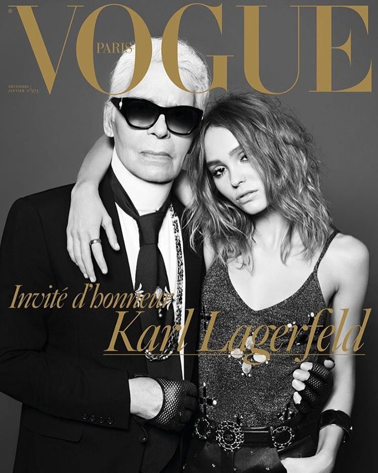 67 best magazine covers images on pinterest magazine covers karl lagerfeld lily rose depp by hedi slimane vogue paris december 2016 january 2017 fandeluxe Choice Image
