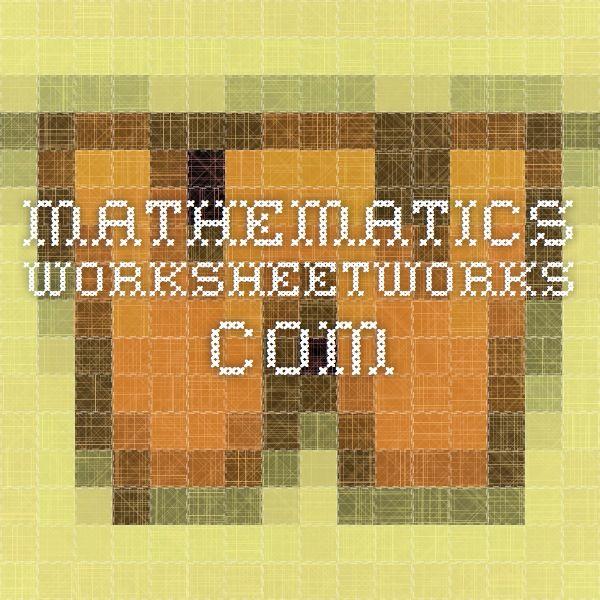 Worksheet Works Com : Best images about math rocks on pinterest