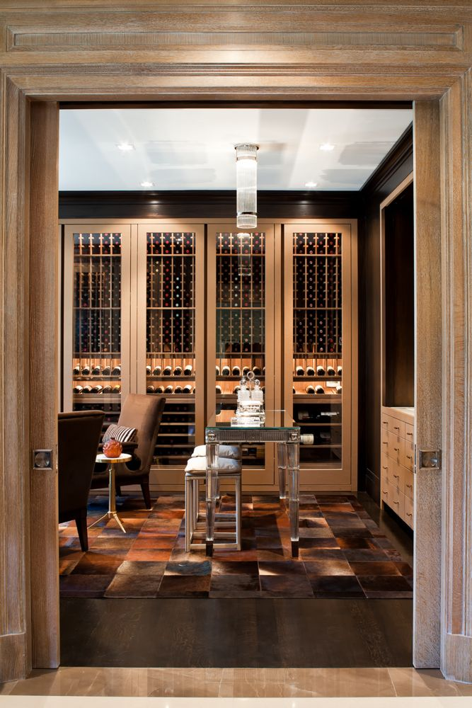 Five Over-the-Top Wine Cellars You Have to See to Believe on domino.com