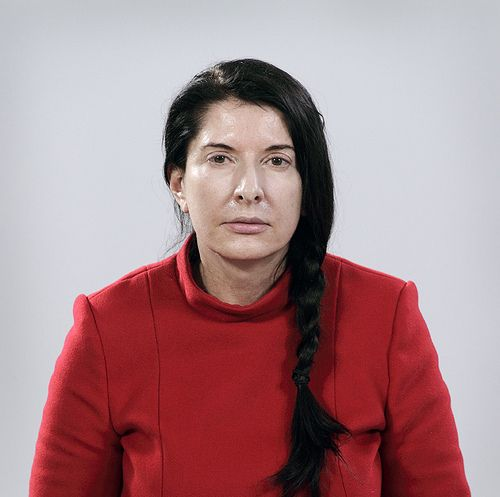 Marina Abramovic Amazing! Got to see her at the MoMA a few years ago.