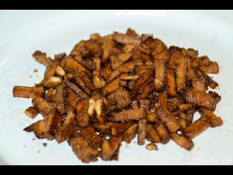 ✩Des lardons végétariens absolument délicieux ! ✩ - YouTube
