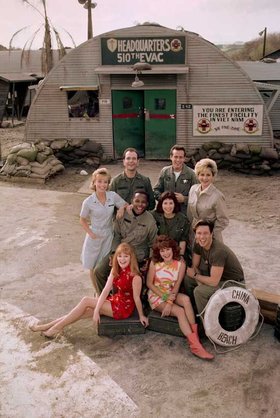 China Beach - Exclusive First Look at the 8x10 Cast Photos in the '25th Anniversary Collector's Edition' 1 of 4